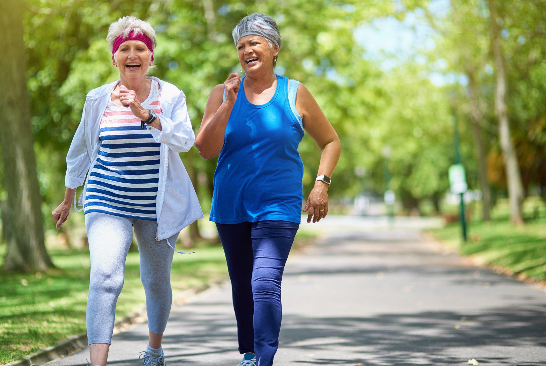 senior health walking