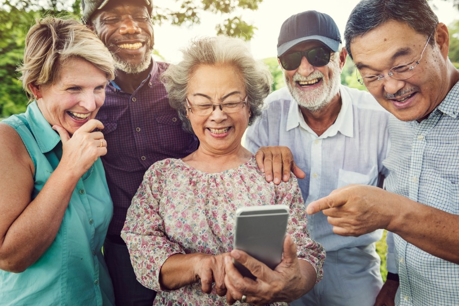Tech Safety Tips for Seniors